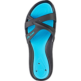 arena Athena Hook Sandals Dame black-turquoise